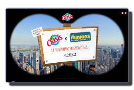 screenshot de www.oasis-minions.com