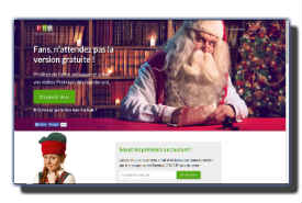 screenshot de www.perenoelportable.com