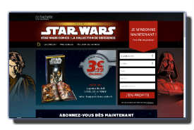 screenshot de www.starwars-collection-hachette.com