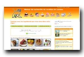 screenshot de www.yanncook.com
