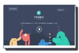 screenshot de www.yoobic.com/fr/