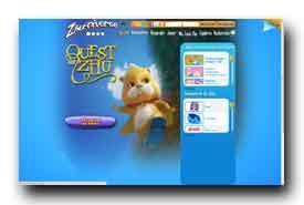 screenshot de www.zhuniverse.com
