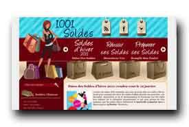 screenshot de www.1001-soldes.com