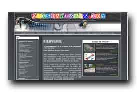 screenshot de www.abcskatepark.com