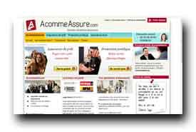 screenshot de www.acommeassure.com