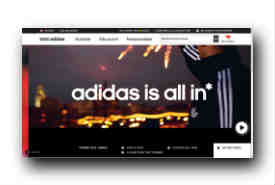 screenshot de www.adidas.com/home/fr
