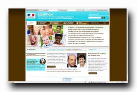 screenshot de www.adoption.gouv.fr