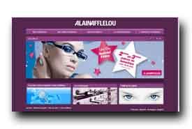screenshot de www.alainafflelou.fr