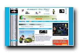 screenshot de www.agentdunet.com