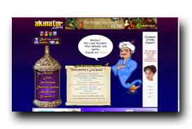 screenshot de fr.akinator.com