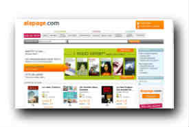screenshot de www.alapage.com