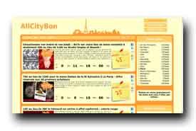 screenshot de www.allcitybon.fr