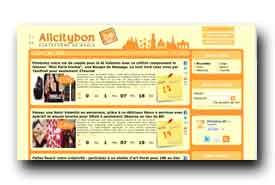 screenshot de www.allcitybon.be
