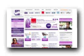 screenshot de www.allomatelas.com