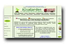 screenshot de www.alsagarden.com