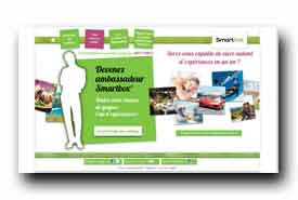 screenshot de www.ambassadeur-smartbox.com