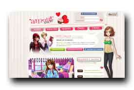 screenshot de www.amoursucre.com