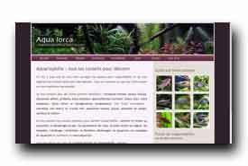 screenshot de www.aqua-lorca.fr