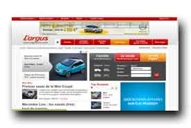screenshot de www.argusauto.com