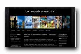 screenshot de www.artduweekend.com