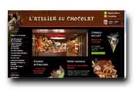 screenshot de www.atelierduchocolat.fr