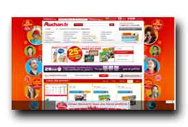 screenshot de www.auchan.fr
