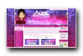 screenshot de www.aura-creations.com