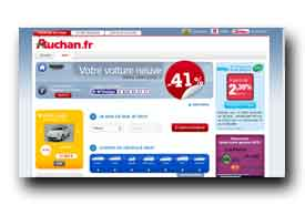 screenshot de auto.auchan.fr