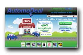 screenshot de www.automodeal.fr