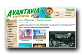 screenshot de www.avantavia.com