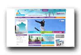 screenshot de www.azureva-vacances.com