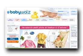 screenshot de www.baby-walz.fr