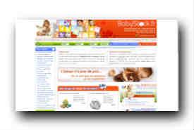 screenshot de www.babystock.fr