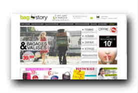 screenshot de www.bag-story.fr