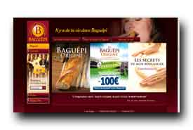 screenshot de www.baguepi.fr