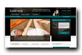 screenshot de www.balinea.com