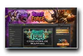 screenshot de www.battleforge.com