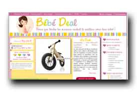 screenshot de www.bebe-deal.fr