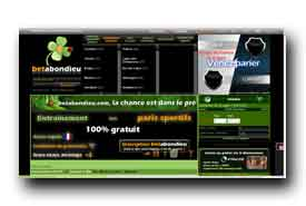 screenshot de www.betabondieu.com