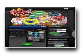 screenshot de www.beybladebattles.com