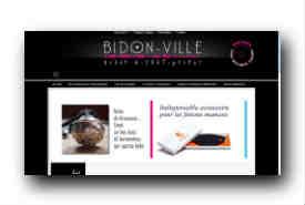 screenshot de www.bidon-ville.com