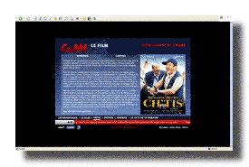 screenshot de www.bienvenuechezleschtis-lefilm.com