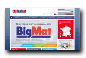 screenshot de www.bigmat.fr