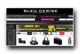 screenshot de www.bleucerise.com