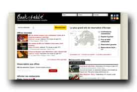 screenshot de www.bookatable.com