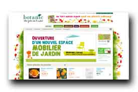 screenshot de www.botanic.com