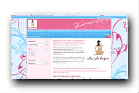 screenshot de boutique.majolielingerie.fr