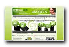 screenshot de www.bricomac.com