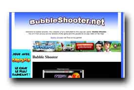 screenshot de www.bubbleshooter.net