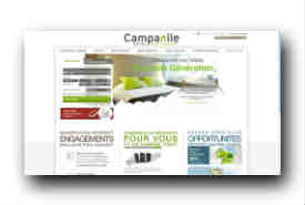 screenshot de www.campanile.fr